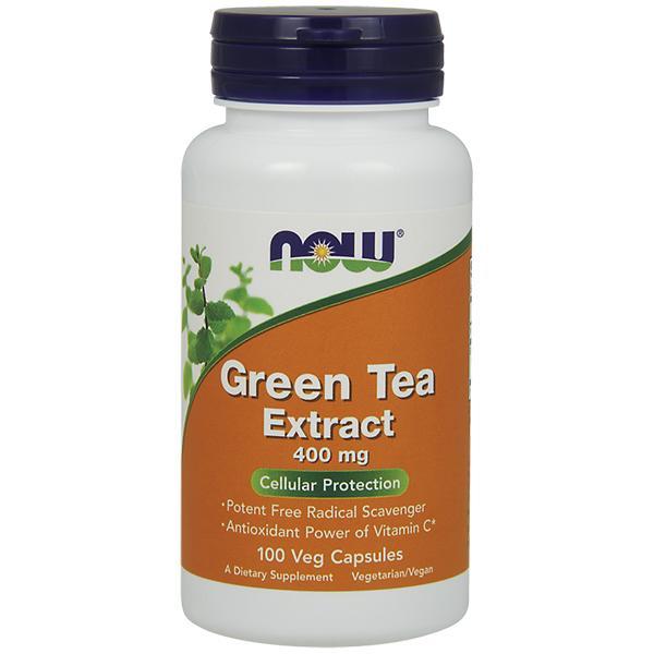 Now Green Tea 400 mg 100 veg caps