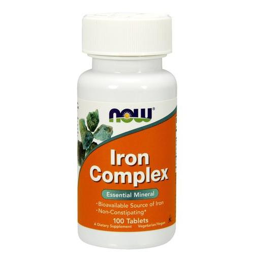 Now Iron Complex 100 tab 0