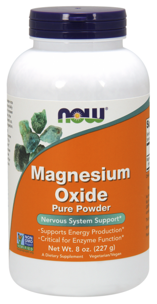 Now Magnesium Oxide Pure Powder 227 g 0