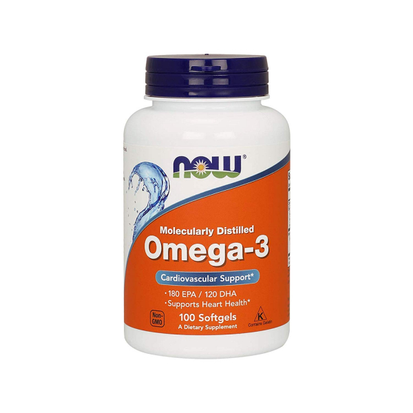 Now Omega 3 100 softgels 0