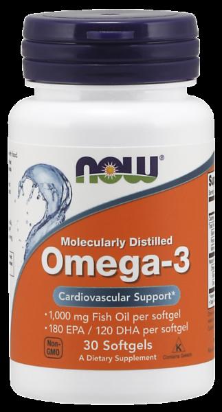 Now Omega 3 30 softgels [0]