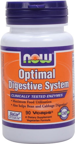 Now Optimal Digestive Enzymes 90 veg caps