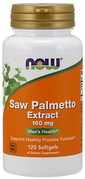Now Saw Palmetto Extract 160 mg 120 softgels 0