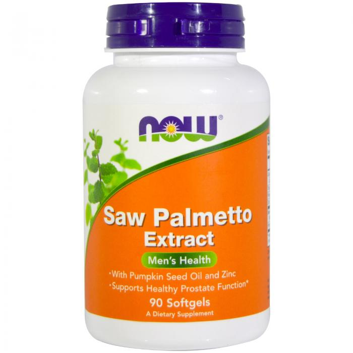 Now Saw Palmetto Extract 90 softgel 0