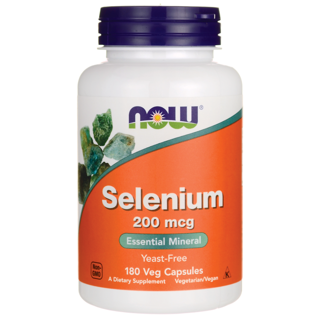 Now Selenium 200 mcg 180 vcaps