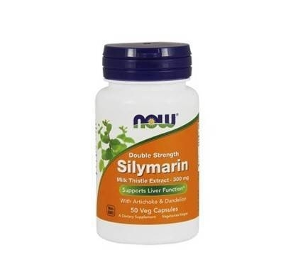 Now Silymarin double Strength 300 mg 0