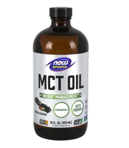Now Sports MCT Oil 473 ml With Flavor 0
