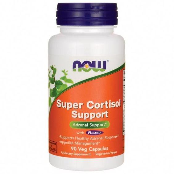Now Super Cortisol Support 90 veg caps 0