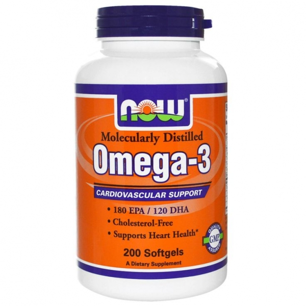 Now Omega 3 200 softgels