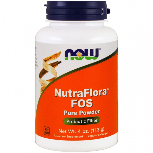 Now NutraFlora® Fos Pure Powder 113 g 0
