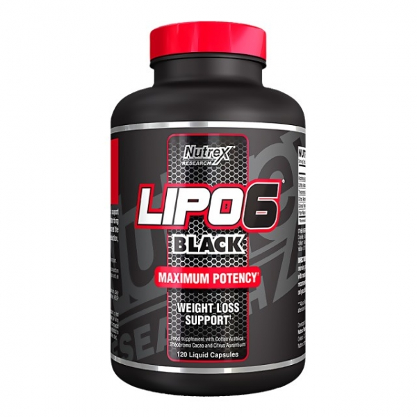 Nutrex Lipo 6 Black US 120 caps 0