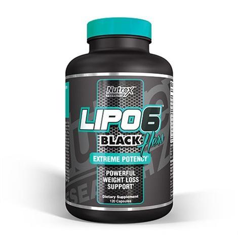 Nutrex Lipo 6 Black Hers 120 caps 0