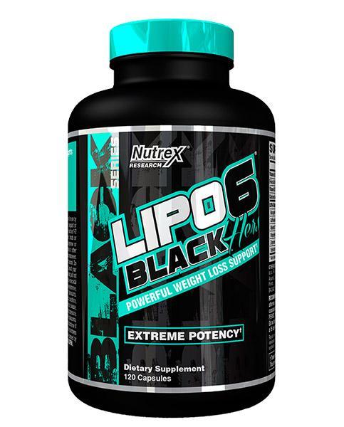 Nutrex Lipo 6 Black Hers New US 120 caps 0