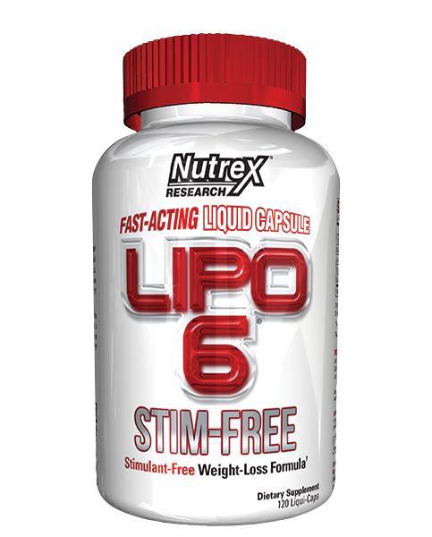 Nutrex Lipo 6 Stim Free 120 liquid caps 0