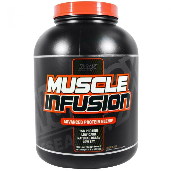 Nutrex Muscle Infusion Black 2.2 kg 0