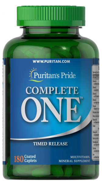 Puritan`s Pride Complete One 180 caps 0