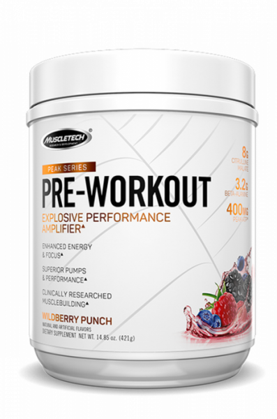 Muscletech Peak Series Pre-Workout 25 serv 0