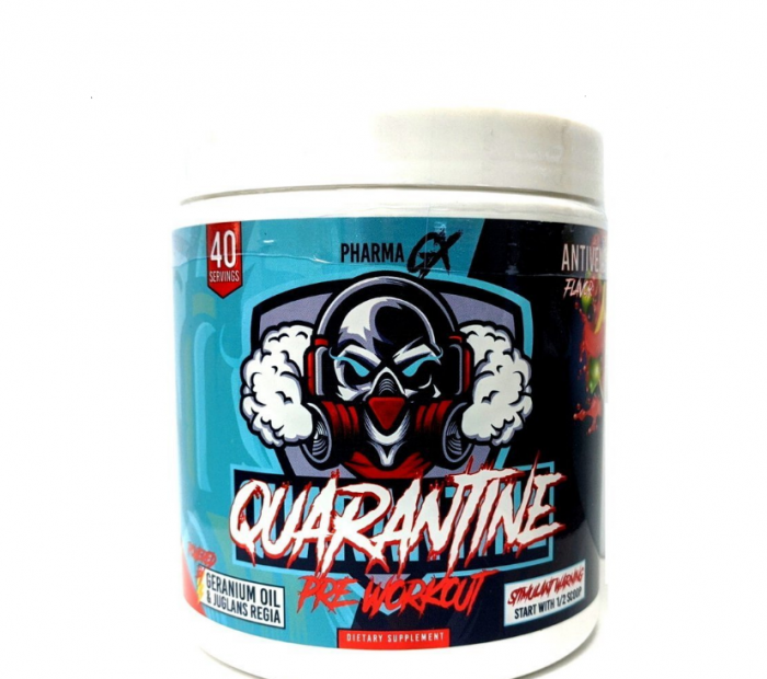 Pharma GX Quarantine Pre-Workout 40 serv [0]