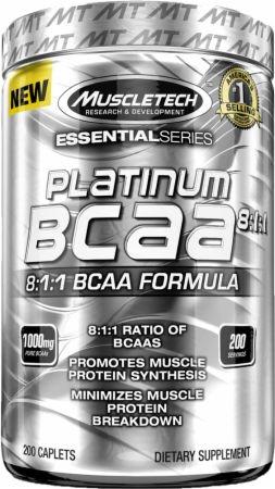 Muscletech Platinum BCAA 8:1:1 0