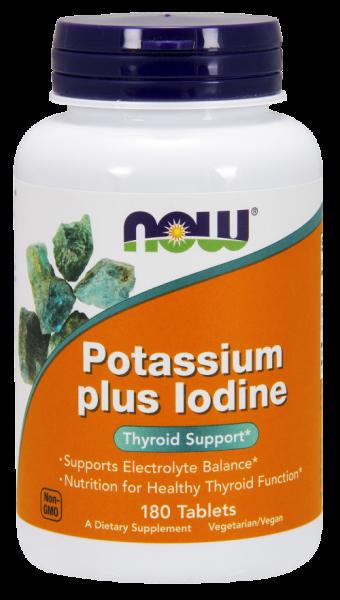 Now Potassium Plus Iodine 180 tab 0