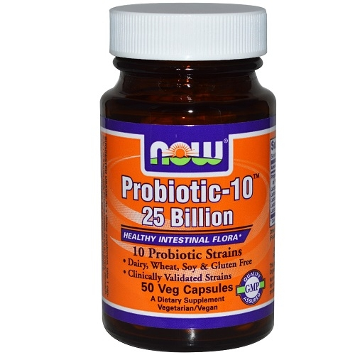 Now Probiotic 10-25 bilion 50 vcaps 0