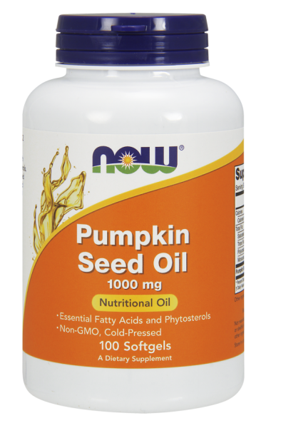 Now Pumpkin Seed Oil 1000mg 100 softgel 0