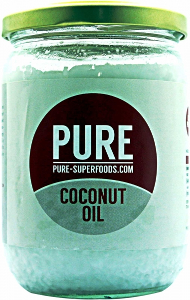 Pure Superfoods Pure Natural Organic Virgin Coconut Oil 400 g 0