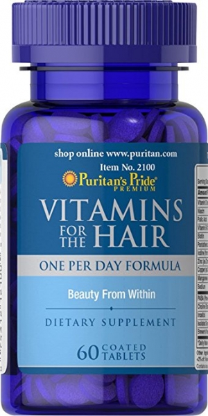 Puritan's Pride Vitamins for the Hair 60 caps 0