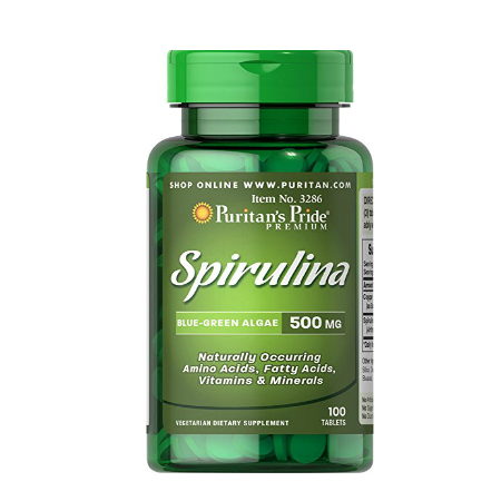 Puritan`s Pride Spirulina 500 mg 100 tablete 0