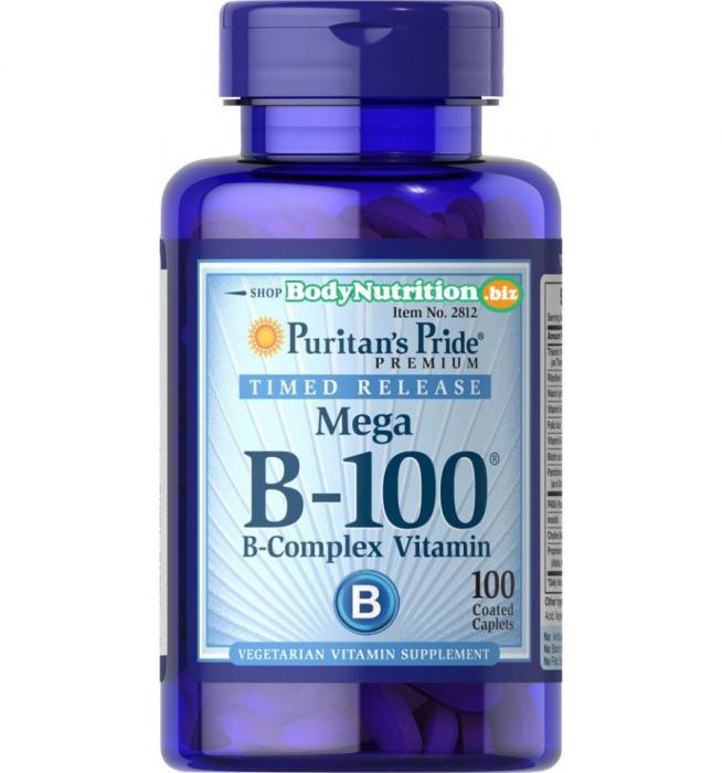 Puritan`s Pride B-100 Complex 100 caps