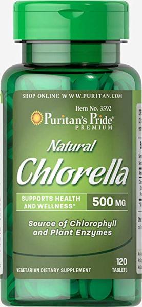 Puritan`s Pride Chlorella 500 mg 120 tab 0