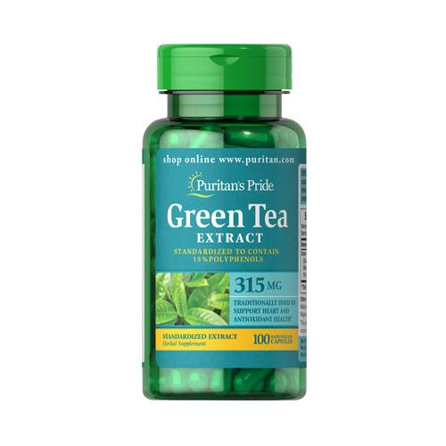Puritan`s Pride Green Tea Standardized Extract 315 mg 100 cps 0