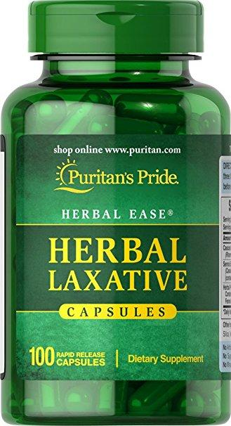 Puritan`s Pride Herbal Laxative 100 caps 0