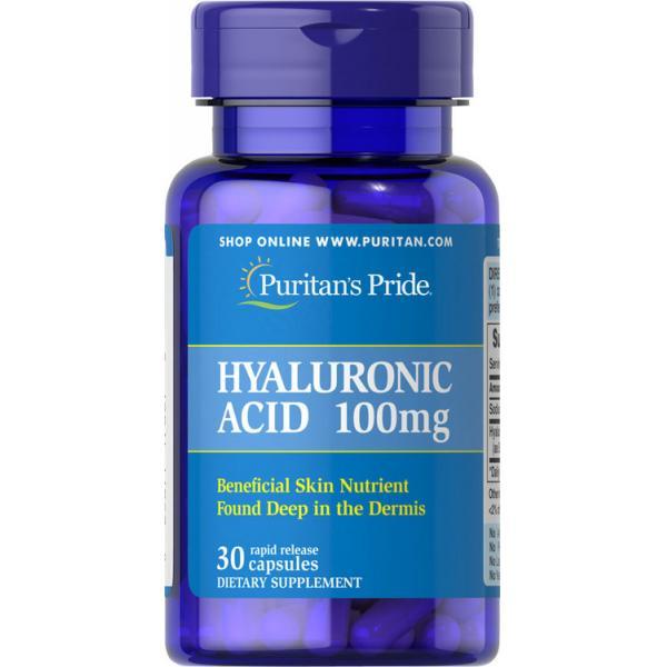 Puritan`s Pride Hyaluronic Acid 100 mg 30 caps 0