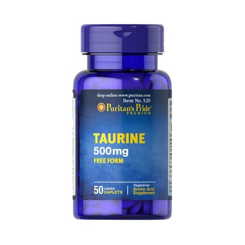 Puritan`s Pride Taurine 500 mg 50 caps 0
