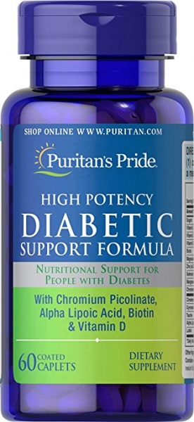 Puritan`s Pride Diabetic Support Formula 60 capsule 0