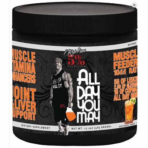 Rich Piana 5% Nutrition All Day You May 30 serv 0