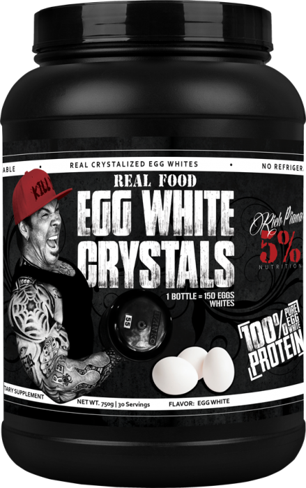 Rich Piana 5% Egg White Crystals 30 serv 0
