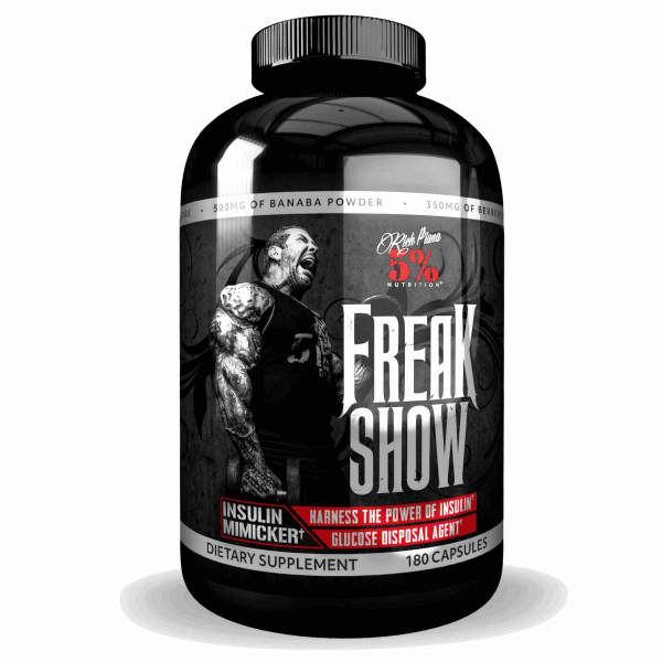 Rich Piana 5% Freak Show 180 caps 1