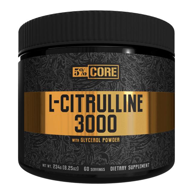 Rich Piana 5% L-Citrulline 3000 with Glycerol Powder 60 serving [0]
