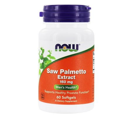 Now Saw Palmetto Extract 160 mg 60 softgels 0