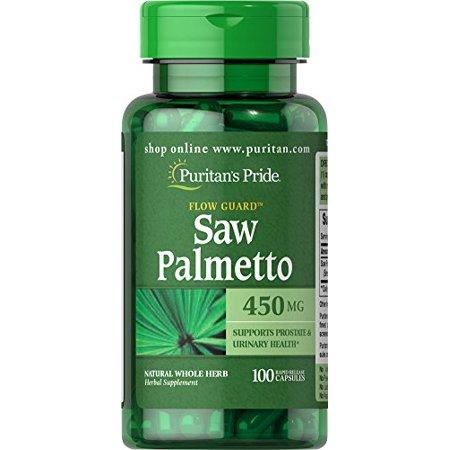 Puritan`s Pride Saw Palmetto 450 mg 100 caps 0