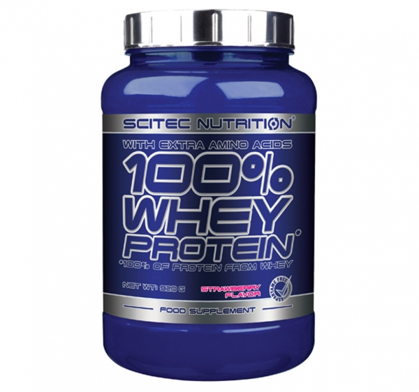 scitec-100-whey-protein-with-extra-amino-acids-920-g 0