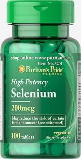 Puritan`s Pride Selenium 200 mcg 100 tablete [0]