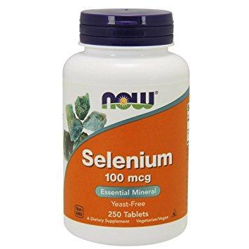 Now Selenium 100 mcg 250 tab 0
