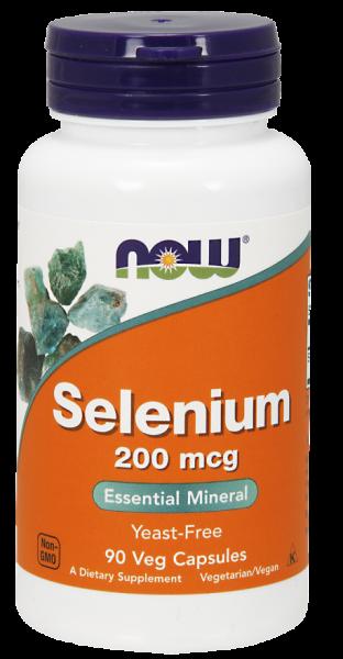 Now Selenium 200 mcg 90 veg caps 0