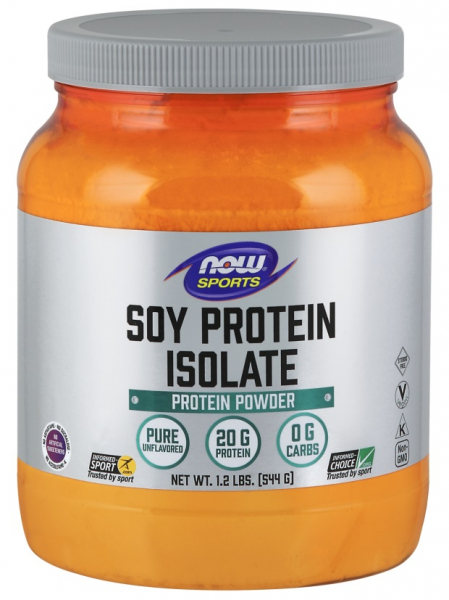 Now Soy Protein Isolate 544 g [0]