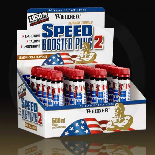 Weider Speed Booster Plus II 20x25 ml 0