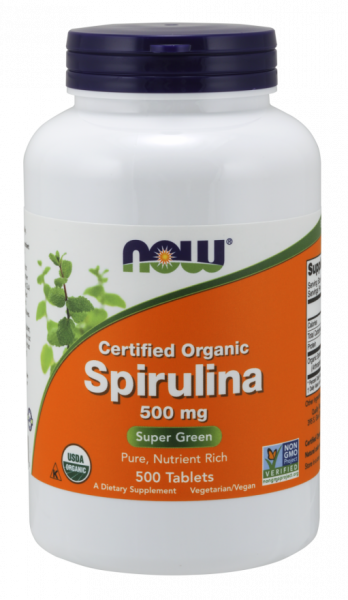 Now Spirulina 500 tab [0]