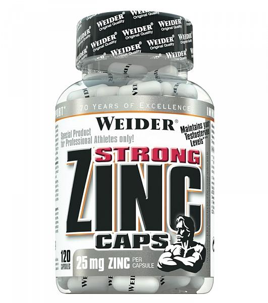 Weider Strong Zinc 25 mg 120 caps [0]
